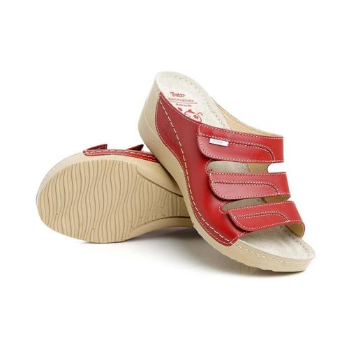 Obrázek z Batz Olga Red Dámské zdravotní pantofle
