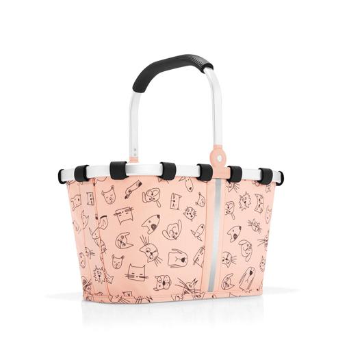 Obrázek z Reisenthel Carrybag XS Kids Cats and dogs rose 5 l