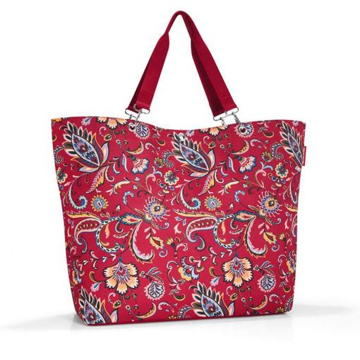 Obrázek z Reisenthel Shopper XL Paisley Ruby 35 l
