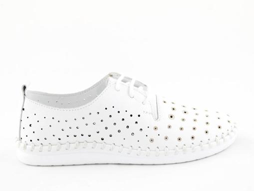 Obrázek z Wild 0646018A.01 White Dámské celokožené boty