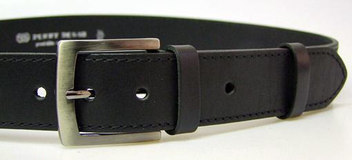 Obrázek z PENNY BELTS 25-1-60 Pánský kožený opasek černý