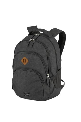 Obrázek z Travelite Basics Backpack Melange Anthracite 22 l