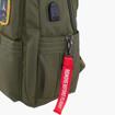 Obrázek z Batoh Aeronautica Militare Frecce L AM-345-33 khaki 25 L
