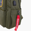Obrázek z Batoh Aeronautica Militare Frecce L AM-345-05 modrá 25 L