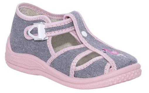 Obrázek z BIGHORN DITA 5004 B Dětská domácí obuv