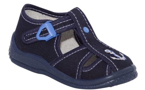 Obrázek z BIGHORN ADAM 5010 B Dětská domácí obuv