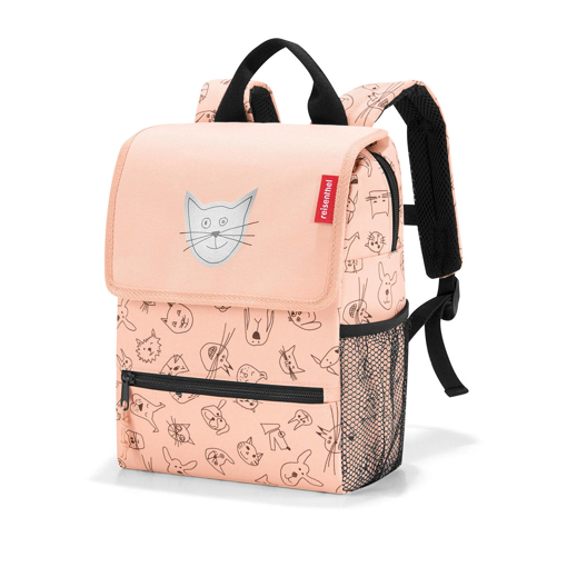 Obrázek z Reisenthel Backpack Kids Cats and dogs rose 5 l