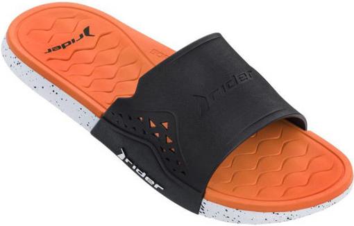 Obrázek z Rider Infinity III Slide 82733-22501 Pánské pantofle černo / oranžové