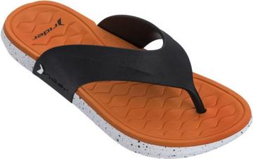 Obrázek Rider Infinity III Thong 82732-22501 Pánské žabky černo / oranžové