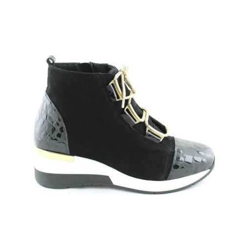 Obrázek z BARTON 21250A Dámské kotníkové boty černé