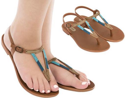 Obrázek z Grendha Cacau Rustic Sandal 17873-90269 Dámské sandály hnědé