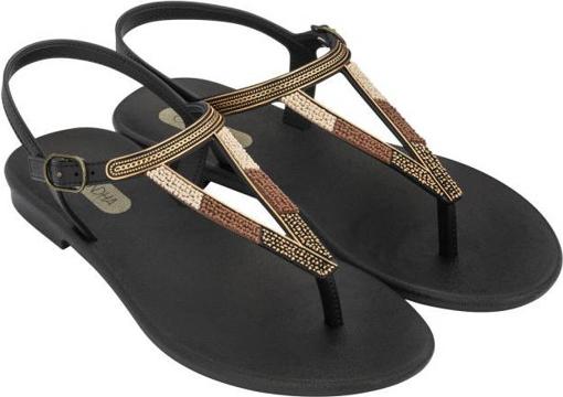 Obrázek z Grendha Cacau Rustic Sandal 17873-90552 Dámské sandály černé