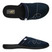 Obrázek z 3F 8PL1/4 Dámské domácí pantofle modré