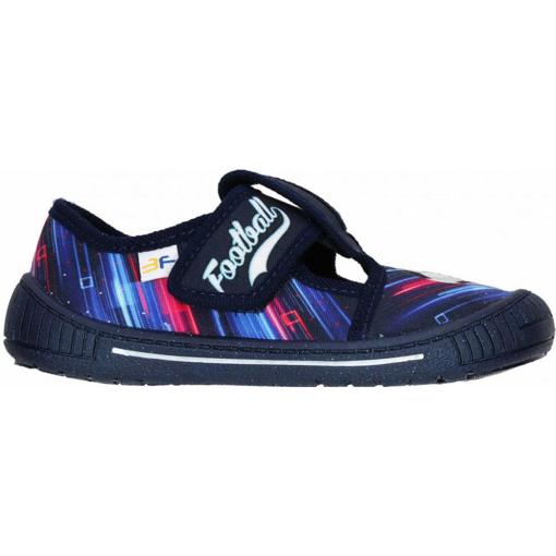 Obrázek z 3F 3Sk3/21 Dětská domácí obuv modrá