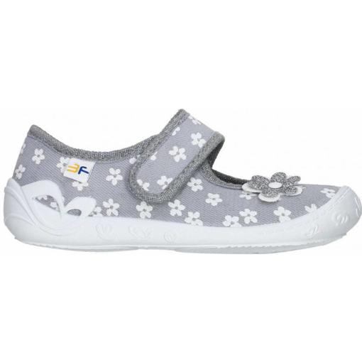 Obrázek z 3F 3A3/15 Dětská domácí obuv šedá