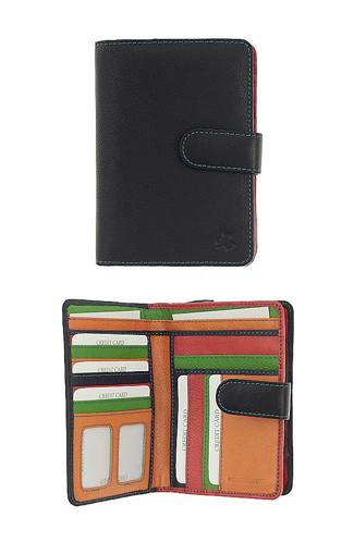 Obrázek z Peněženka Carraro Multicolour 834-MU-01 černá