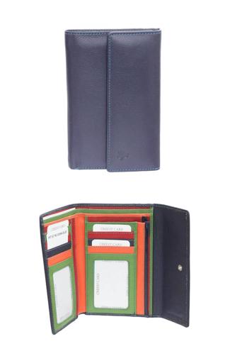 Obrázek z Peněženka Carraro Multicolour 837-MU-05 modrá