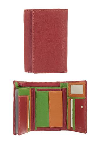 Obrázek z Peněženka Carraro Multicolour 838-MU-02 červená