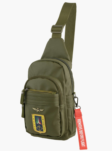 Obrázek z Batoh Aeronautica Militare Frecce cross AM-342-33 khaki 4 L