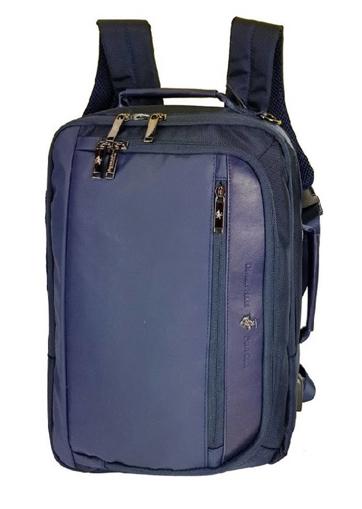 Obrázek z Batoh BHPC Miami USB BH-1373-05 modrá 13 L