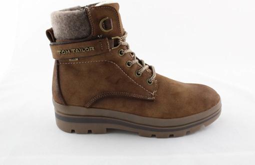 Obrázek z Tom Tailor 9090701 Dámské kotníkové boty whisky