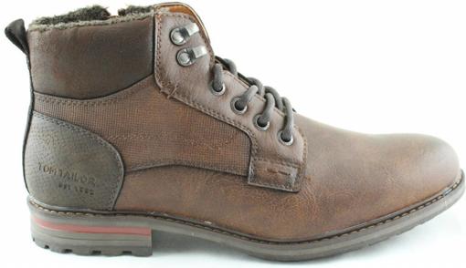 Obrázek z Tom Tailor 9082103 Pánské kotníkové boty hnědé