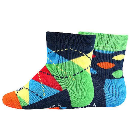 Obrázek z LONKA ponožky Woodinek mix A - kluk 2 pár