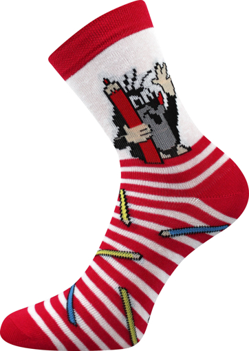 Obrázek z BOMA ponožky Krtek mix 1 / holka-pastelka 1 pár