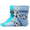 Obrázek z BOMA ponožky Dona ABS mix kluk 3 pár