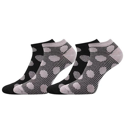 Obrázek z BOMA ponožky Duo 02 černá 1 pack