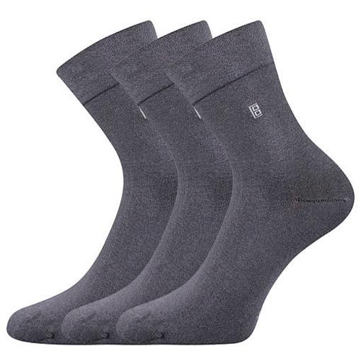 Obrázek z LONKA ponožky Dagles tmavě šedá 3 pár