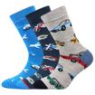 Obrázek z BOMA ponožky Filip 02 ABS mix B - kluk 3 pár