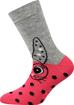 Obrázek z BOMA ponožky Filip 02 ABS mix D - holka 3 pár