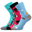 Obrázek z BOMA ponožky 057-21-43 10/X mix C - holka 3 pár