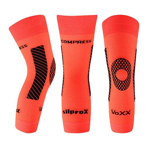 Obrázek z VOXX kompresní návlek Protect koleno neon oranžová 1 ks