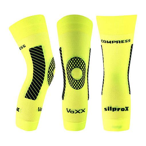 Obrázek z VOXX kompresní návlek Protect koleno neon žlutá 1 ks