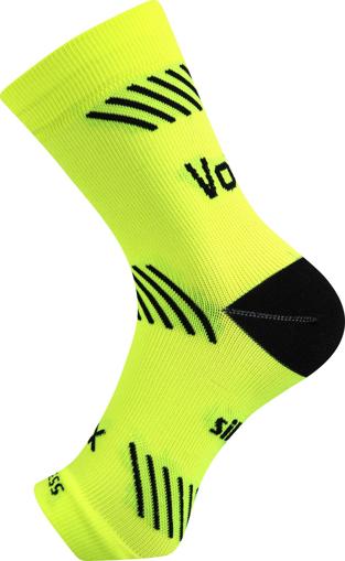Obrázek z VOXX kompresní návlek Protect kotník neon žlutá 1 ks