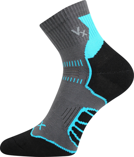 Obrázek z VOXX ponožky Falco cyklo tmavě šedá 1 pár