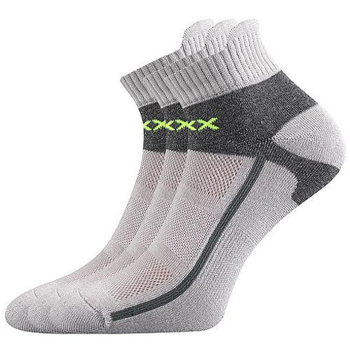 Obrázek z VOXX ponožky Glowing světle šedá 1 pár