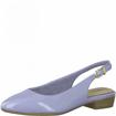 Obrázek z Tamaris 1-29402-26 833 Dámské sandály na podpatku modré