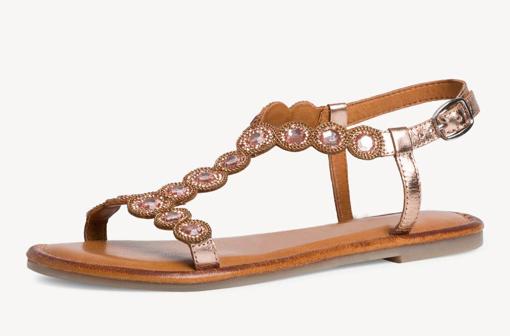 Obrázek z Tamaris 1-28127-26 963 Dámské sandály měděné