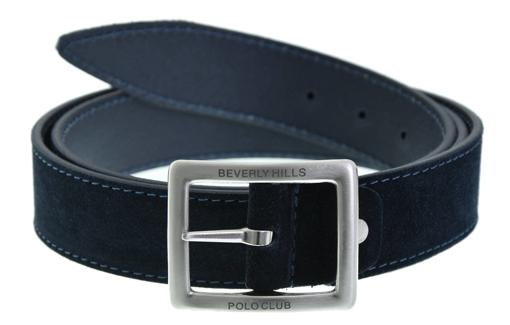 Obrázek z Opasek pánský BHPC BH-6435-05 modrá