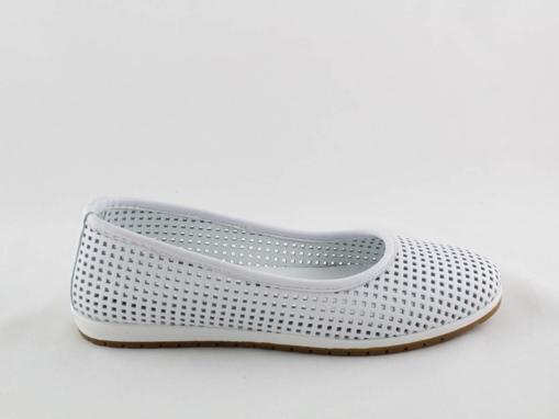 Obrázek z Looke CARROLIN L0601-03 Dámské baleríny bílé