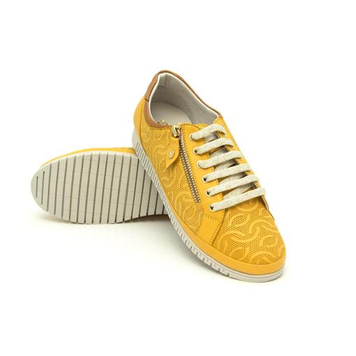 Obrázek z Batz ORLANDO Mustard Dámské kožené boty
