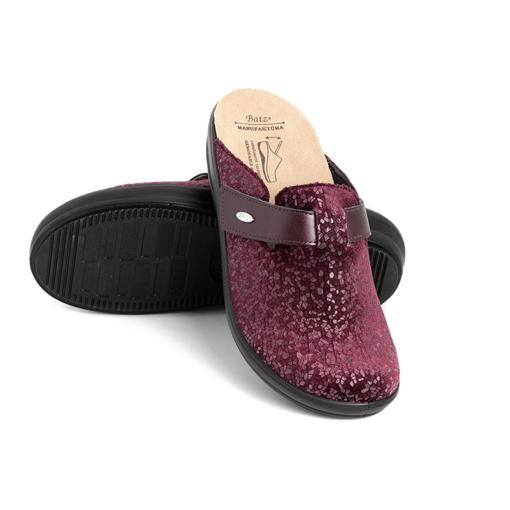 Obrázek z Batz IVETT Dark red Dámské zdravotní pantofle