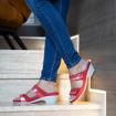 Obrázek z Batz Laura Red Dámské zdravotní pantofle