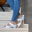Obrázek z Batz Laura White Dámské zdravotní pantofle