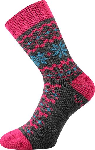 Obrázek z VOXX ponožky Trondelag tmavě šedá melé 1 pár
