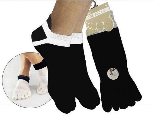 Obrázek z BOMA ponožky Prstan-a 01 černá 1 pár
