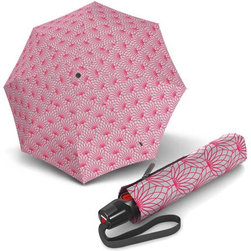 Obrázek z Knirps T.200 Medium Duomatic Renature Pink Dámský plně automatický deštník